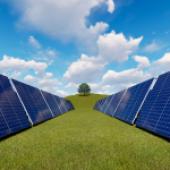 Budowa, oraz zasada działania ogniwa słonecznego.